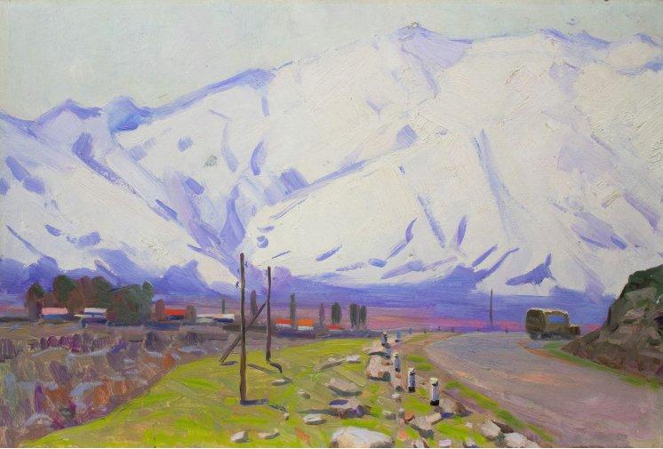 """""""Киргизія. Снігові гори"""""""