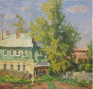 """""""Yard. Sergyivska Lavra"""""""