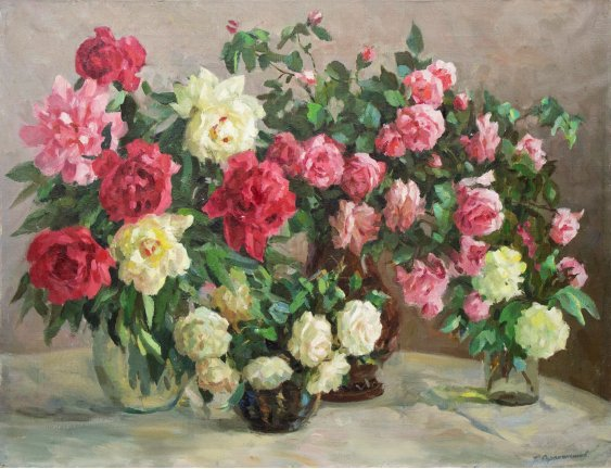 """""""Still life, flowers"""""""