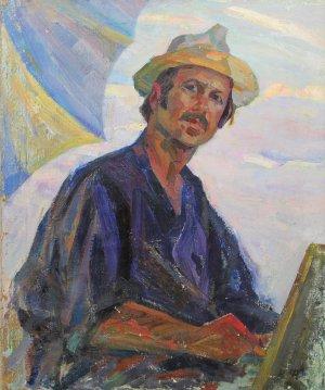 """Portrait of the artist"""