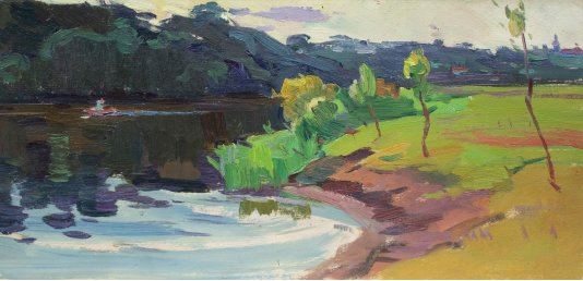 """""""Summer on the river"""""""
