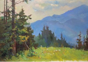 """""""Morning in the Carpathians"""""""