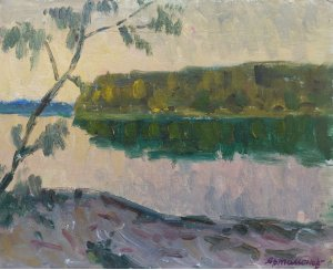 """""""Evening on the river"""""""
