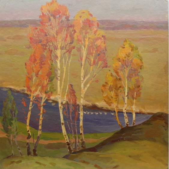 """""""Young birch trees"""""""