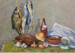 """Натюрморт з рибою"""