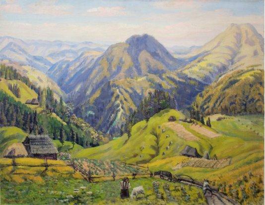 """In the Carpathians"""