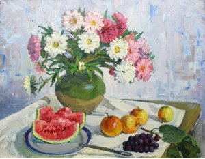 """""""Still life with watermelon"""""""