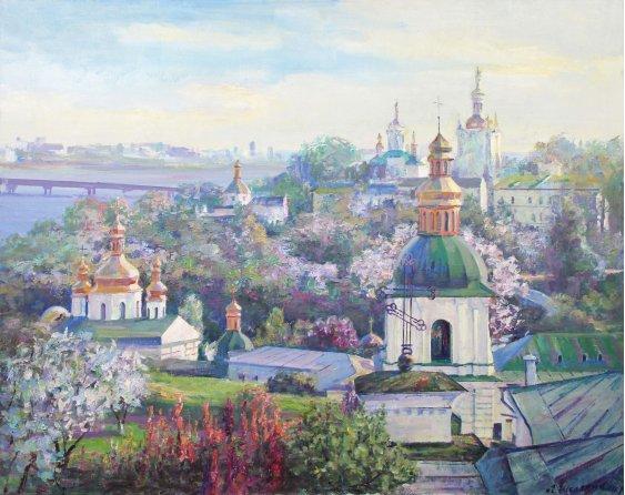 """""""Лавра весною"""""""