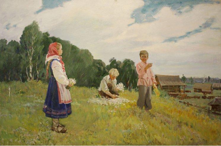 """""""Діти збирають квіти"""""""