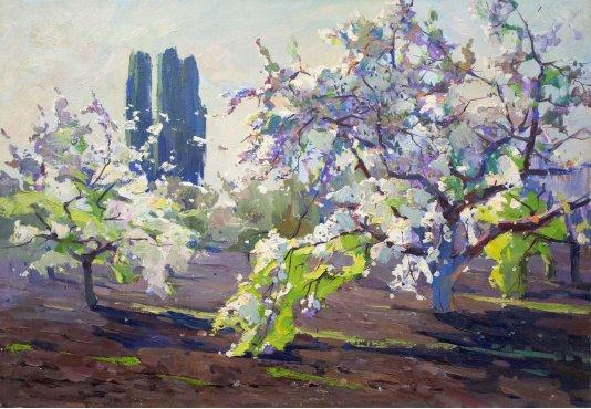 """Весняний сад"""