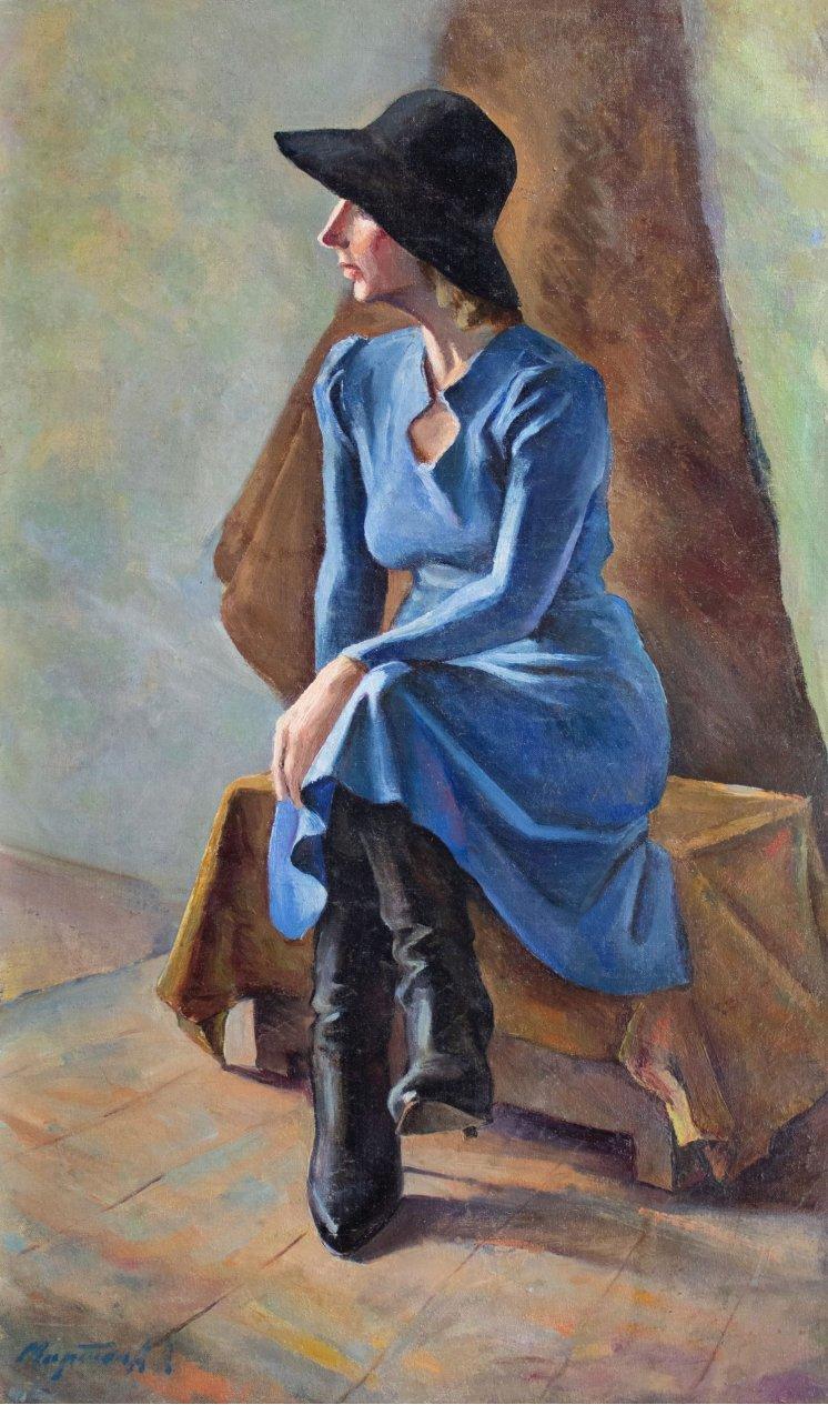 """""""Жінка на стільці"""""""