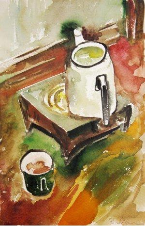 """""""Чайник на плиті"""""""