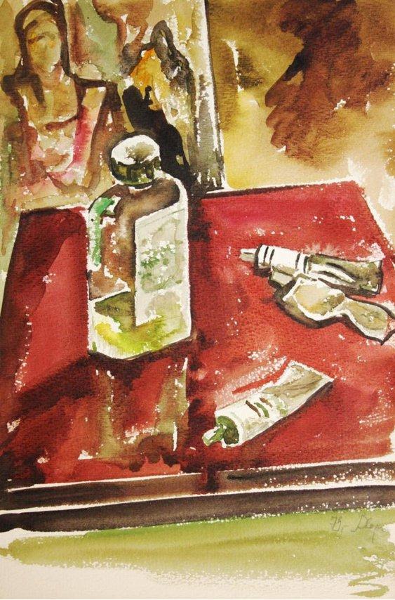 """""""Artist paints"""""""