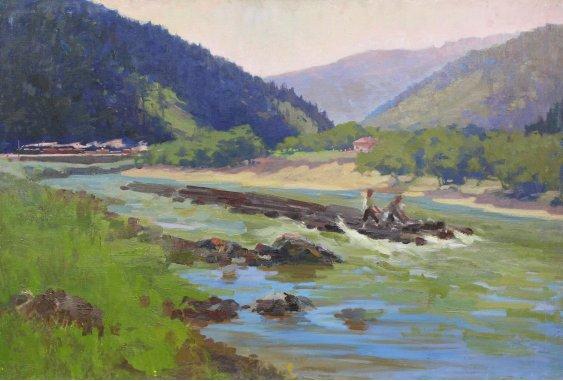 """""""Rafting in the Carpathians"""""""