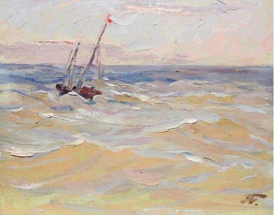 """""""Boat at sea"""""""