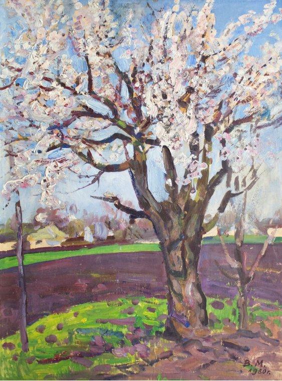 """""""Цветет дерево/В начале весны"""""""