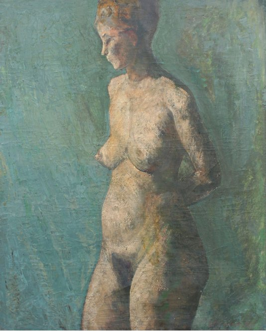 """Naked woman"""