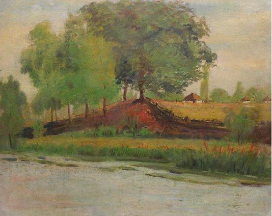 """""""Село на березі ріки"""""""