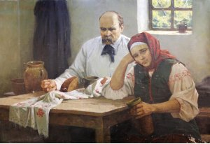 """""""Зажурилися (Т.Шевченко)"""""""