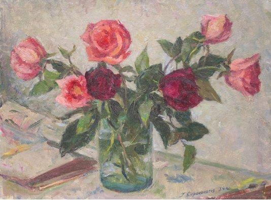 """""""Троянди на столі"""""""