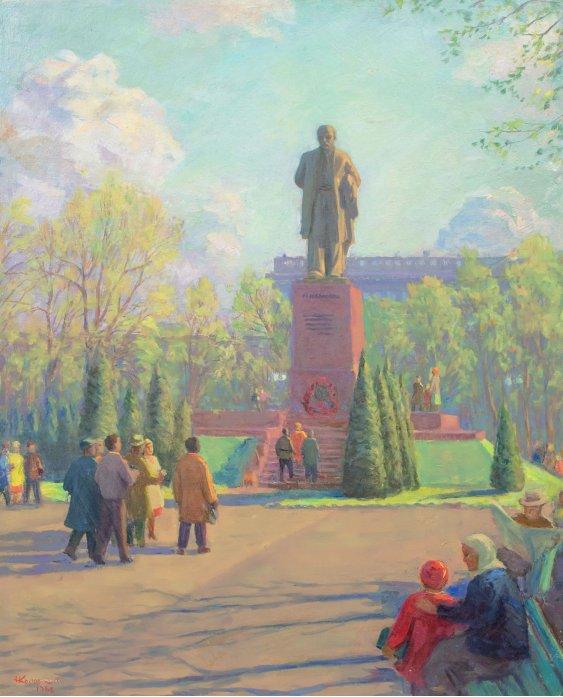 """""""Біля пам'ятника Кобзарю"""""""