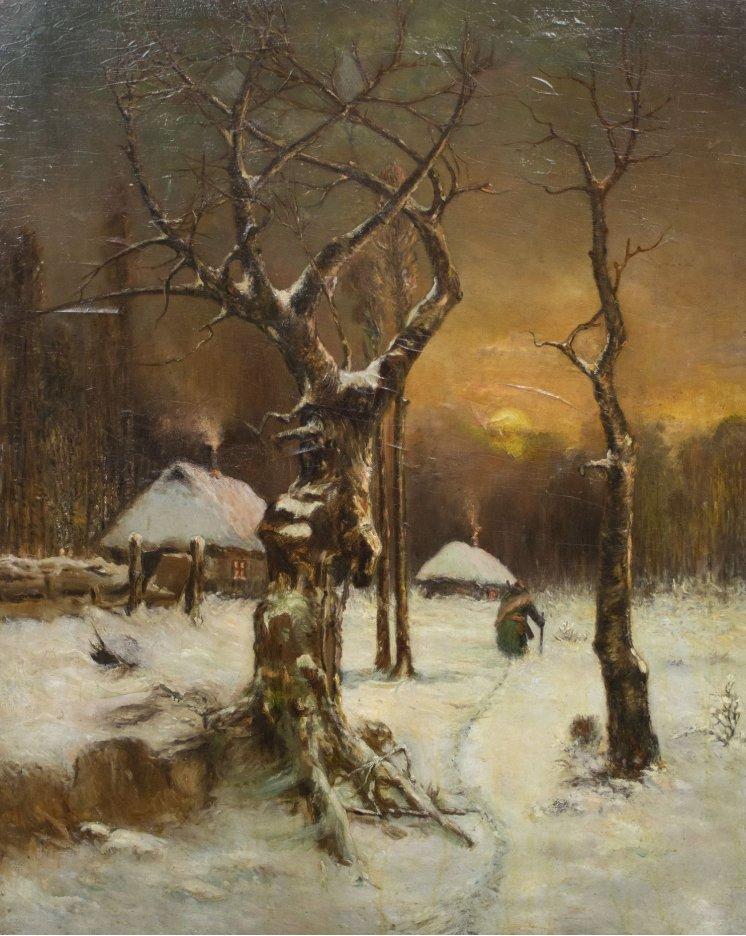 """""""Зимовий захід сонця"""""""