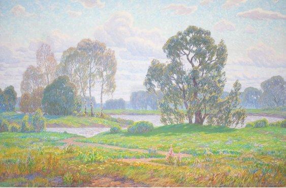 """""""Река весной"""""""