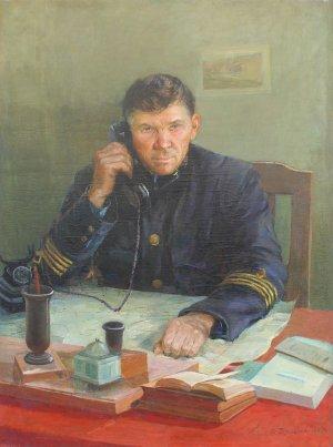 """Портрет шахтаря Меркулова Н.З."""