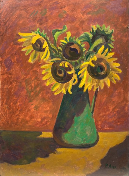 """""""Sunflowers in the evening light"""""""