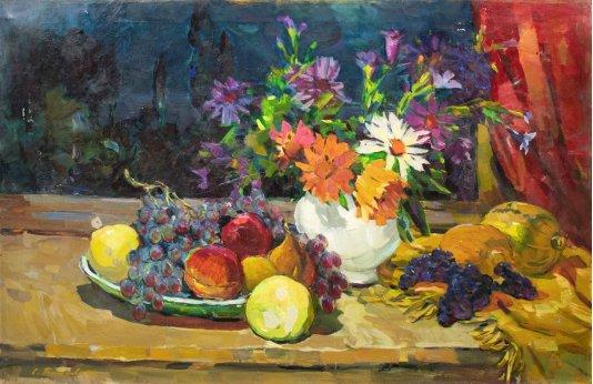 """""""Цветы и фрукты"""""""