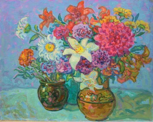 """Цветы из сада"""