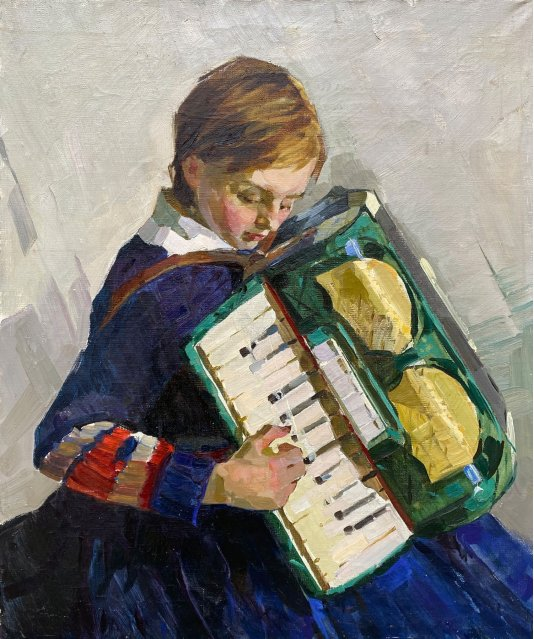 """""""Дівчинка з акордеоном"""""""