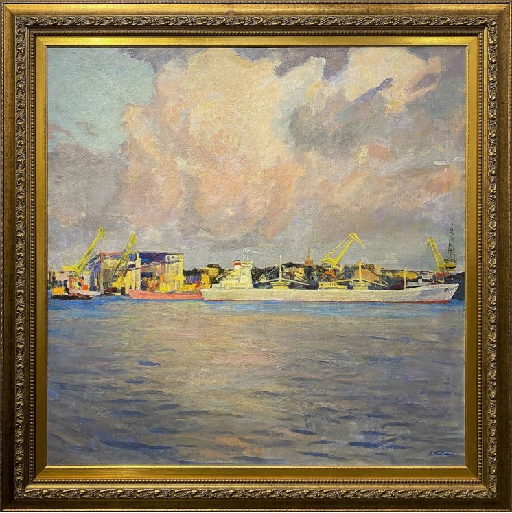 """""""In the Odessa port"""""""