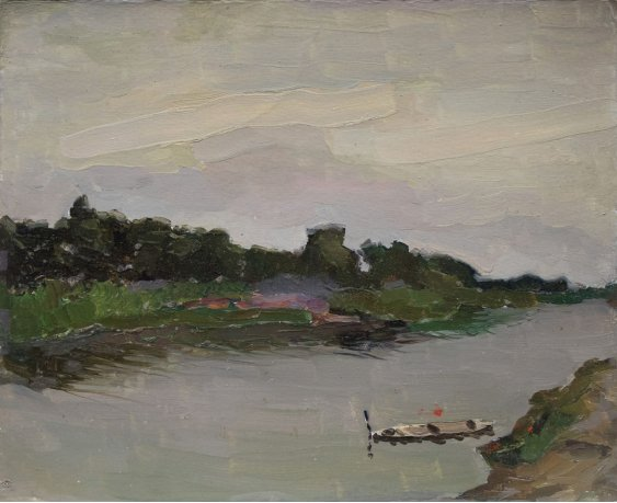 """""""Boat on the river"""""""