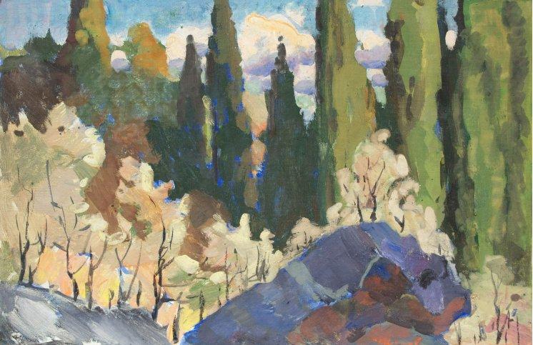 """Cypress trees"""