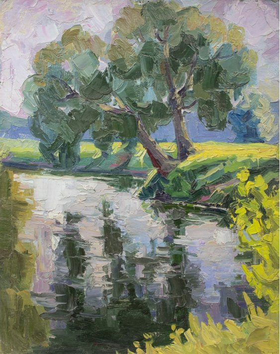 """""""Trees by the river"""""""
