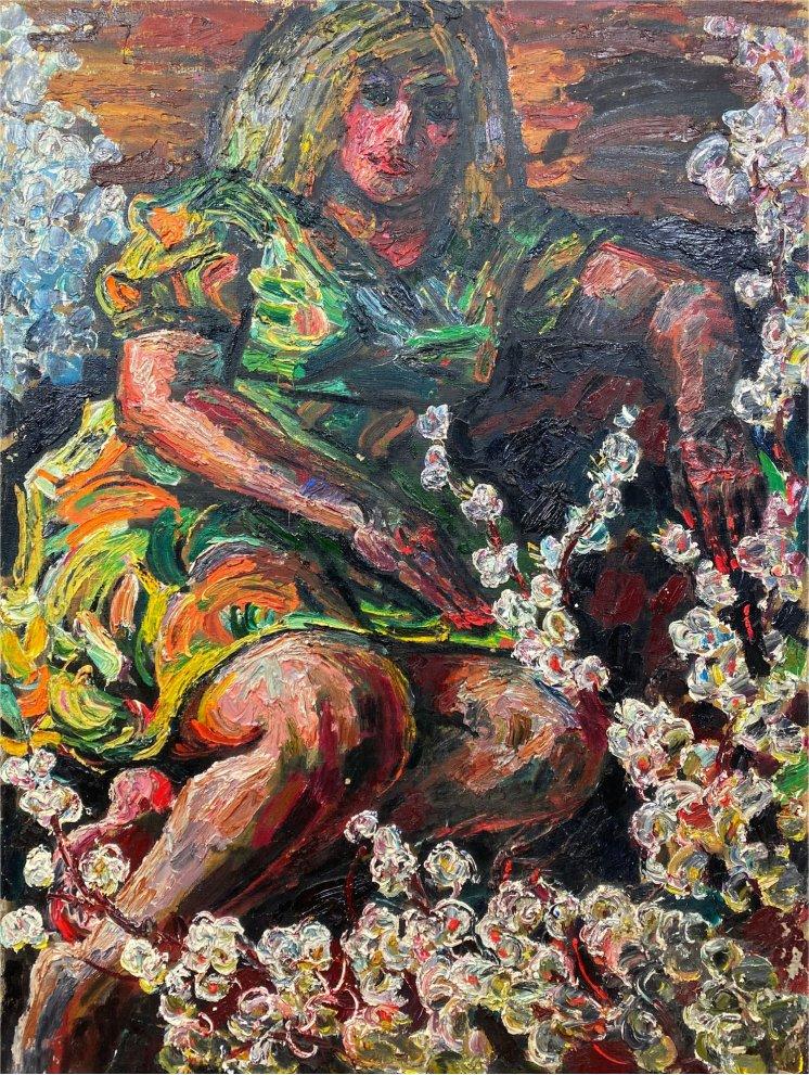 """""""In the flower garden"""""""