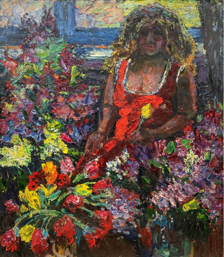 """""""Among the flowers"""""""