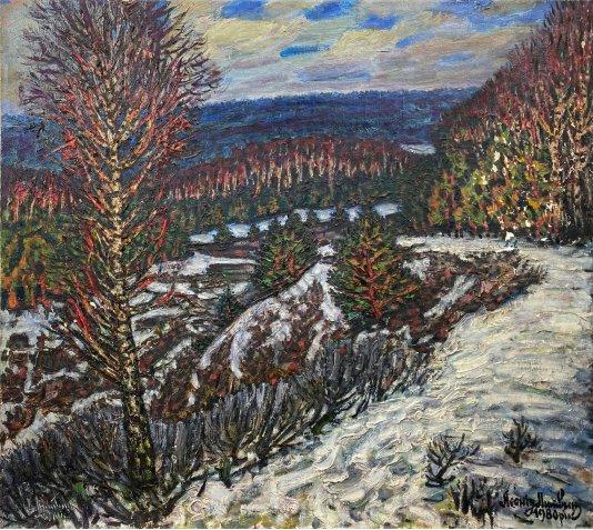 """""""Winter in Kozhukhivka"""""""
