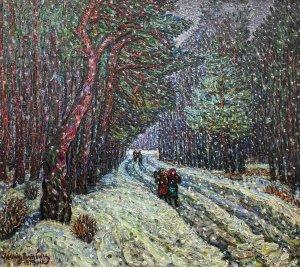 """""""Зима. Сосновий ліс"""""""