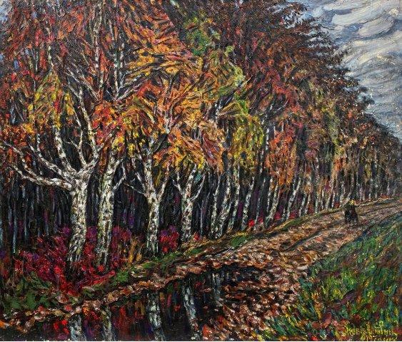 """The sadness of autumn days"""
