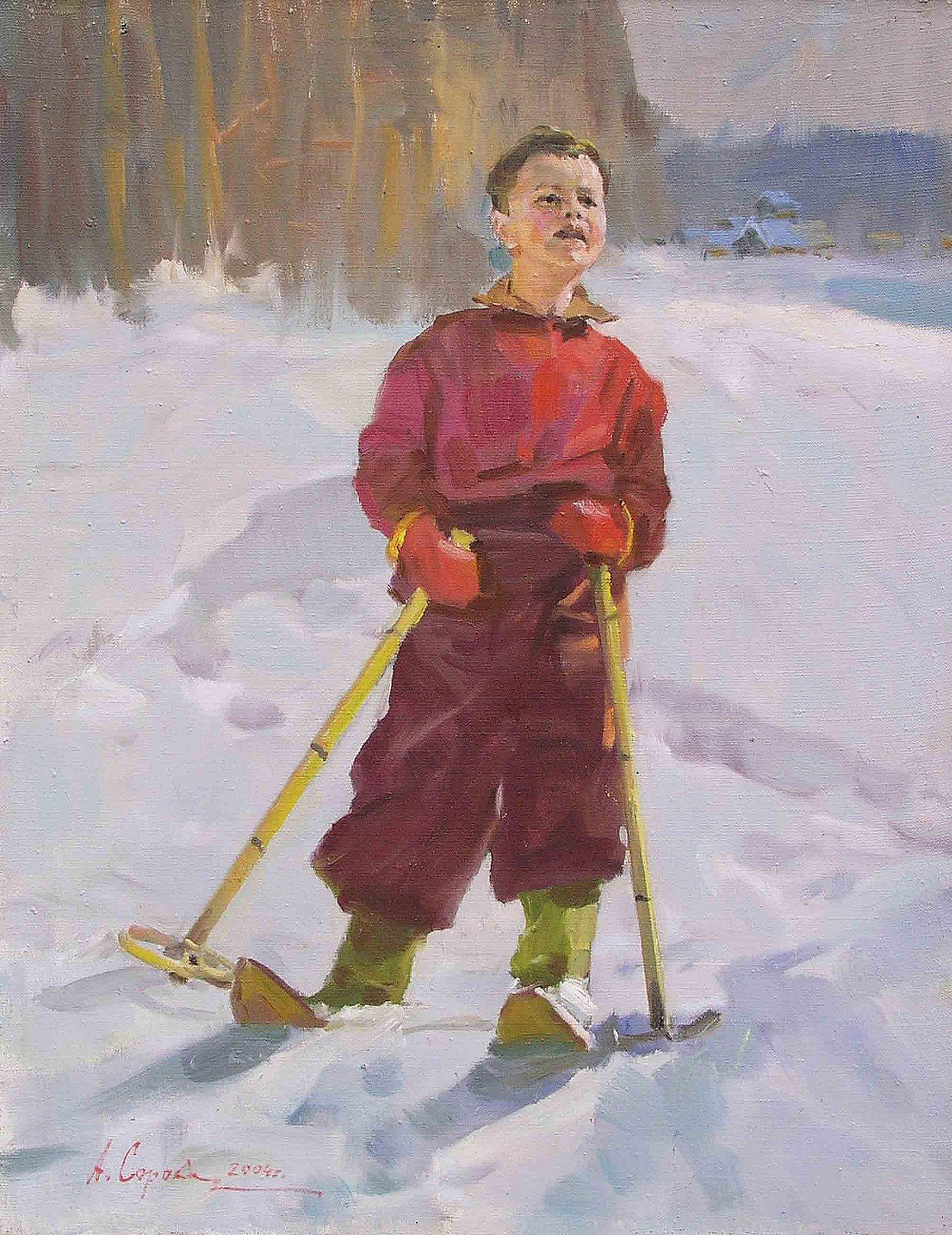 алисе командой юный лыжник картинки совсем трогательной